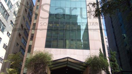 Imperdível!! Sala comercial 263m², 10 vagas. Imóvel em prédio 24h e com auditório – R$ 23.500,00